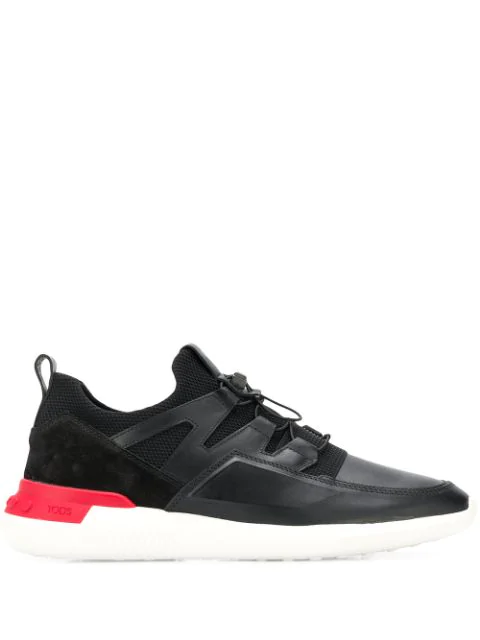 Tod's Shoeker_no_code_02 Leather Sneakers In B999 Black