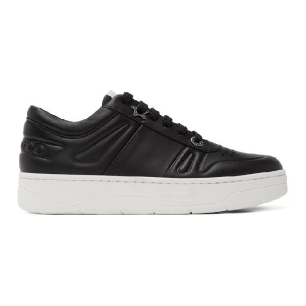 Jimmy Choo 'hawaii' Flatform-sneakers In Black