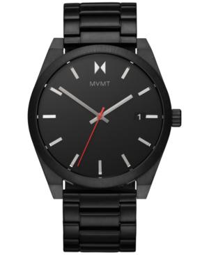 Mvmt Men's Element Ash Black-tone Stainless Steel Bracelet Watch 43mm