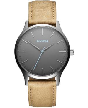 Mvmt Men's 40 Series Sandstone Leather Strap Watch 40mm