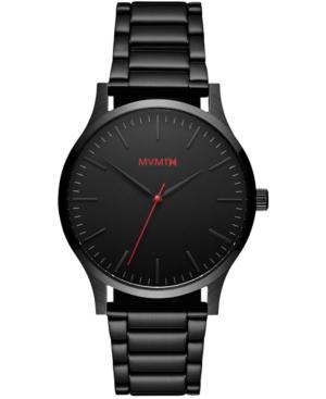 Mvmt Men's 40 Series Black Stainless Steel Bracelet Watch 40mm