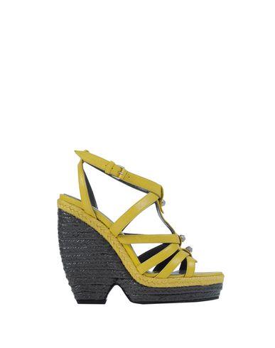 Balenciaga Espadrilles In Yellow