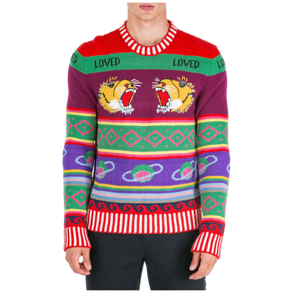 Gucci Interactive Jumper In Multi