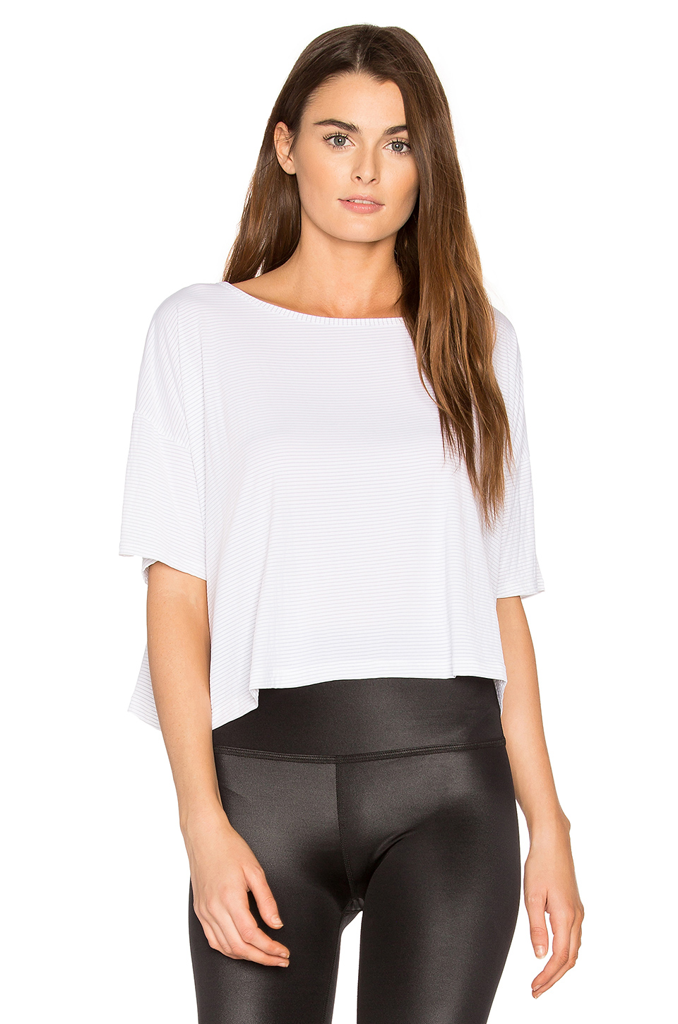 dffc33d602 Beyond Yoga Cut The Crop Top In White | ModeSens