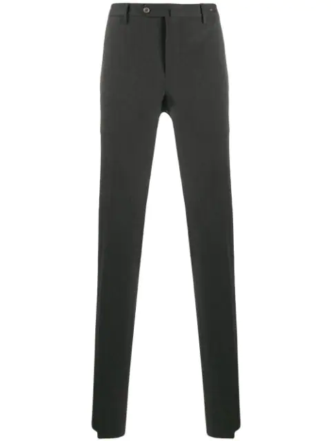 Pt01 Slim-fit Tailored Trousers In Grey