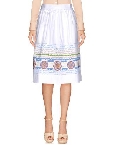 Peter Pilotto Knee Length Skirt In White