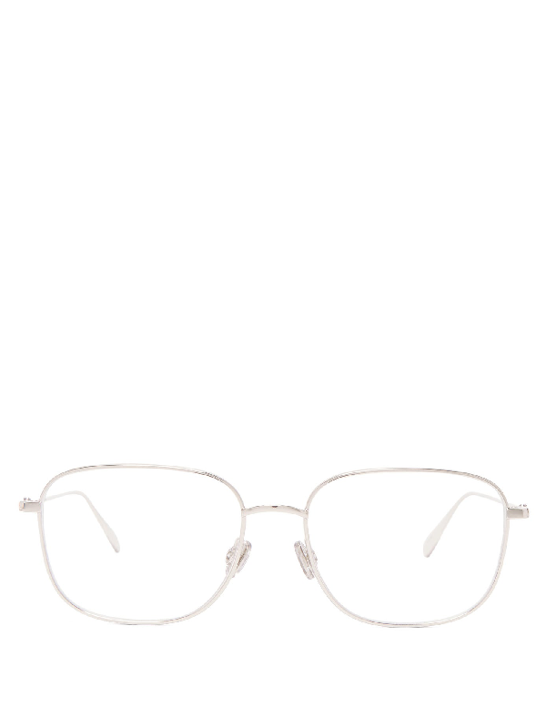 Dior Stellaire1 Square Metal Glasses In Silver