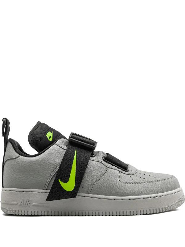 Nike Air Force 1 Low Utility Sneakers In Grey