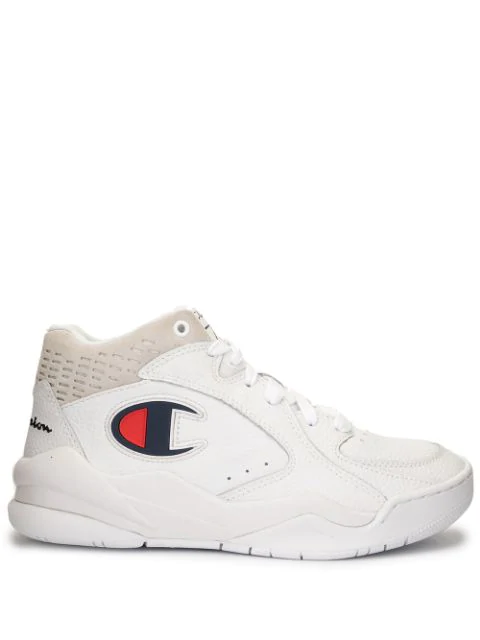 Champion 'zone-mid' Sneakers In White