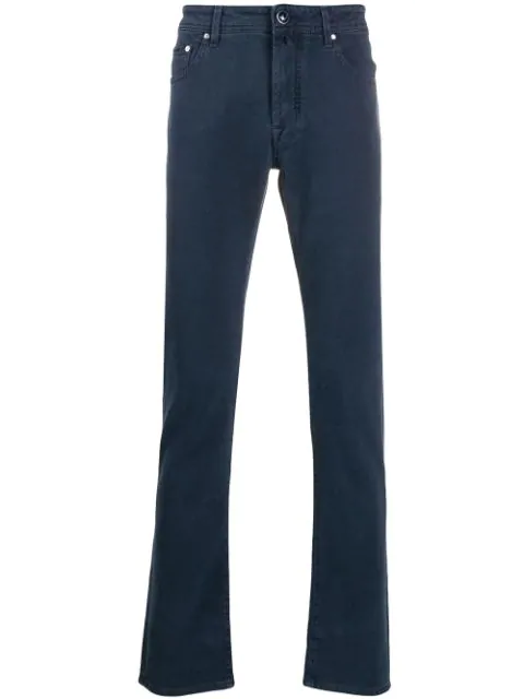 Jacob Cohen Straight-leg Denim Jeans In Blue