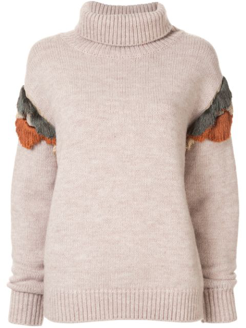 Muller Of Yoshiokubo Wool Knitted Jumper In Neutrals