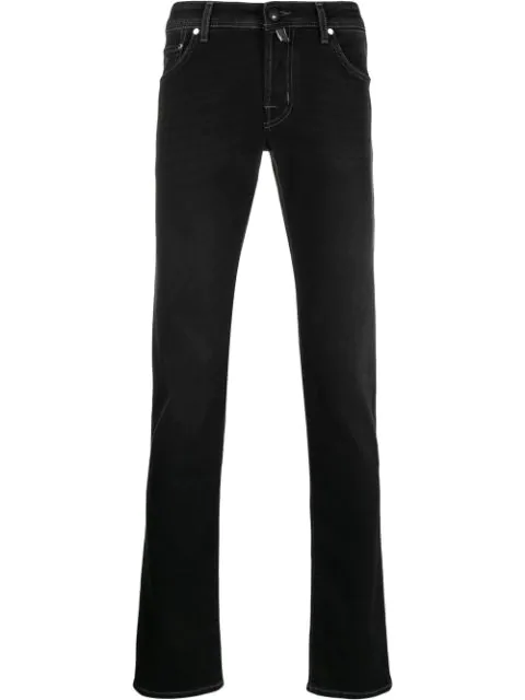 Jacob Cohen Skinny Fit Jeans In Black