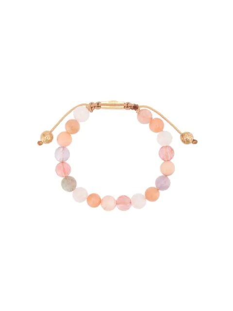 Nialaya Jewelry Faceted Stone Bracelet In Pink