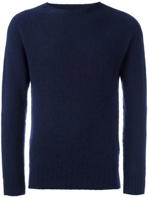 Howlin' Birth Of Cool Brushed Jumper In Blue