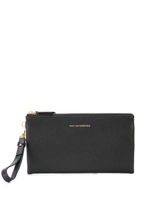 Want Les Essentiels De La Vie Slim Billfold Wallet In Black