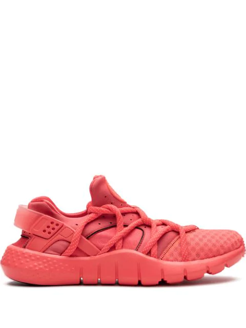 Nike Air Huarache Natural Motion Sneakers In Pink