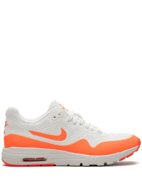 Nike 'air Max 1 Ultra Moire' Sneakers In White