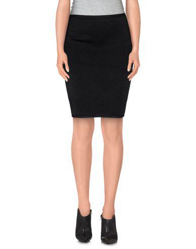 Alexander Wang Knee Length Skirt In Black