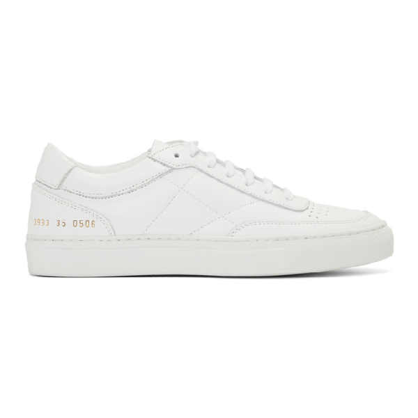 Common Projects White Resort Classic Sneakers