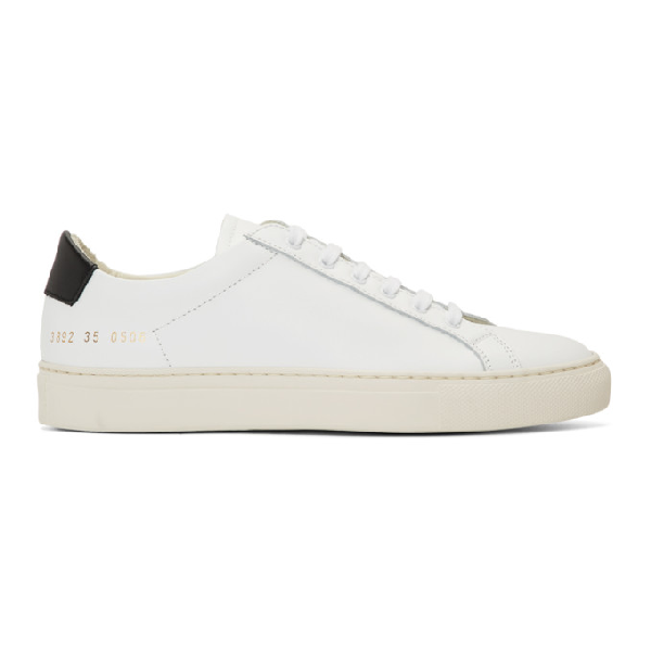Common Projects Retro Low Special Edition Sneaker In 0506 White