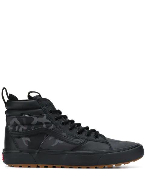 Vans Sk8-hi Mte 2.0 Dx Water Resistant High Top Sneaker In Camo/black