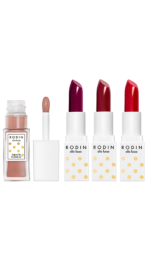 Rodin Luxury Lip Couture Set In Red Hedy  Loving Lucy  Billie On The Bik