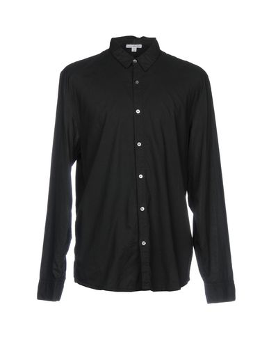 James Perse Shirts In Black