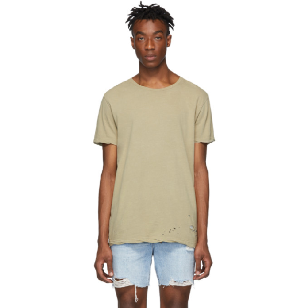Ksubi Classic Short-sleeve T-shirt In 23 Beige