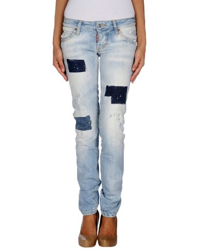 Dsquared2 Denim Pants In Blue