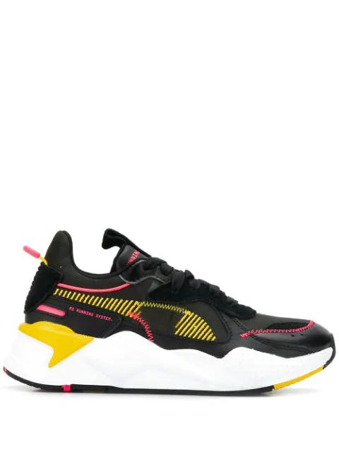 Multicolor Rs-x Proto Sneakers In Black
