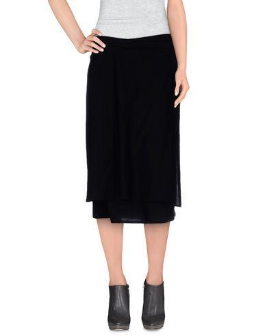 Ann Demeulemeester Knee Length Skirt In Black