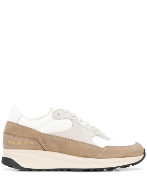 Common Projects Track Classic Sneakers In 0506 White