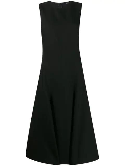 Joseph Jackson Panelled Dress In Black
