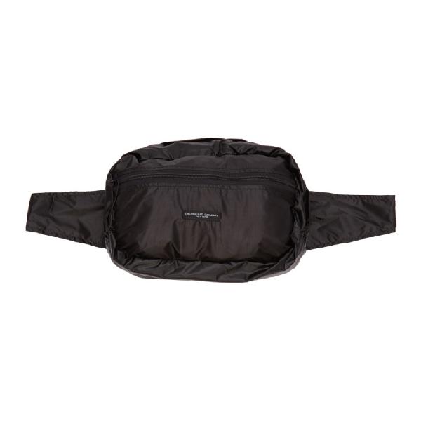 Engineered Garments Black Ul Waist Pack In E1 Black