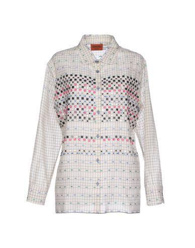 Missoni Checked Shirt In White