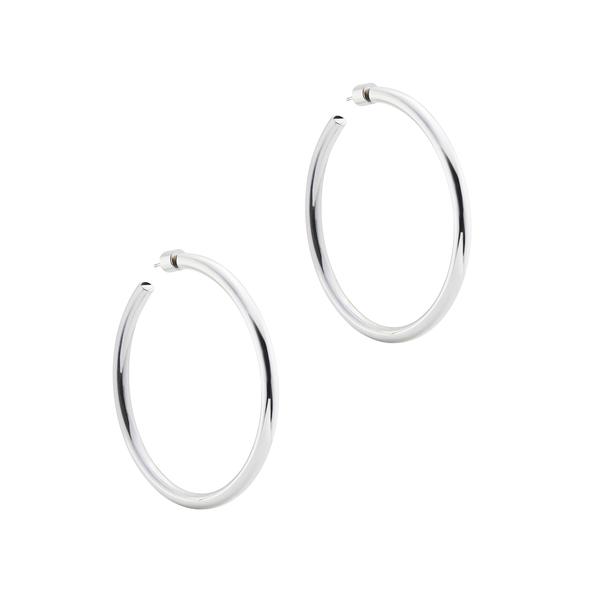 """Jennifer Fisher 2"""" Goop Hoops Earring In Sterling Silver"""