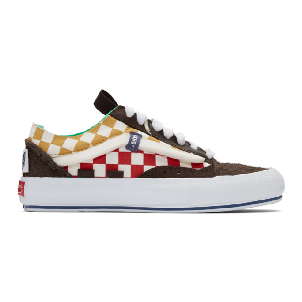 Vans Multicolor Men's Ua Old Skool Cap Lx Check And Suede In Bracked/tr Wht