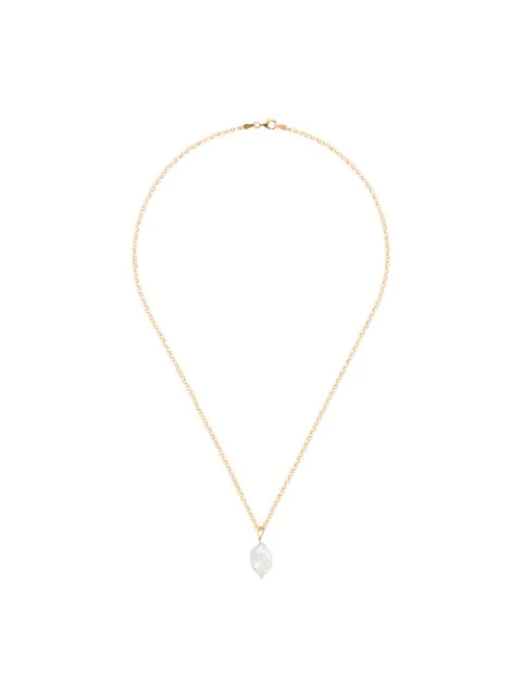 Holly Ryan Pearl Pendant Necklace In Metallic