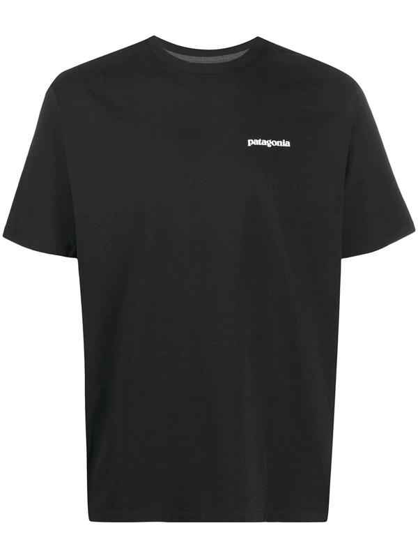 Patagonia P-6 Logo Pocket Responsibili-tee T-shirt - Black
