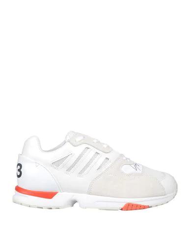 Y-3 Zx Run Suede Sneaker White In Neutral