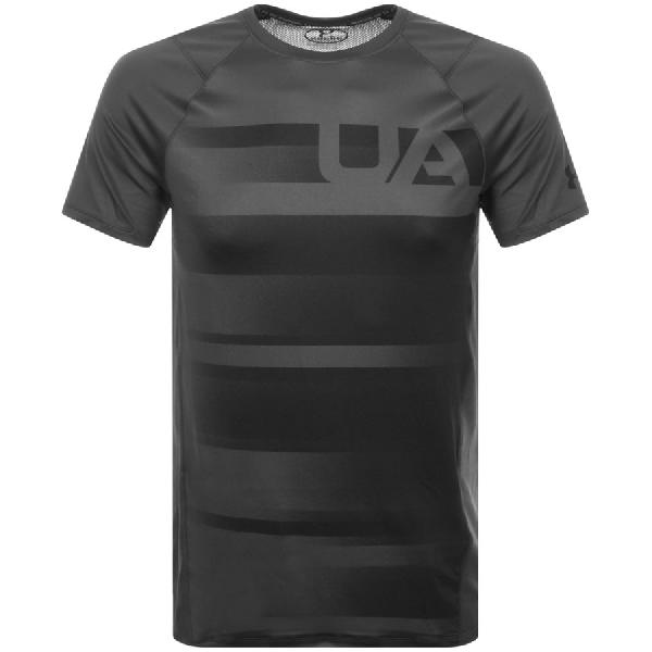 Under Armour Mk1 Short Sleeve T Shirt Grey