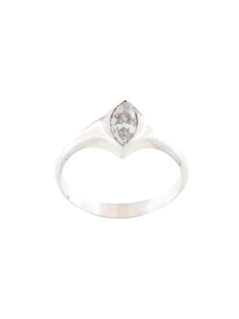 Niomo Sinai Stone-embellished Ring In Silver