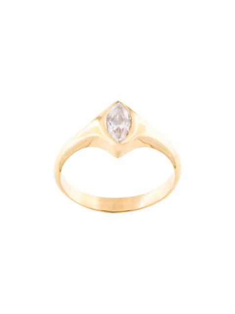 Niomo Mandelförmiger 'sinai' Ring In Gold