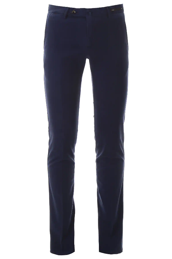 Pt01 Superslim Trousers In Blue