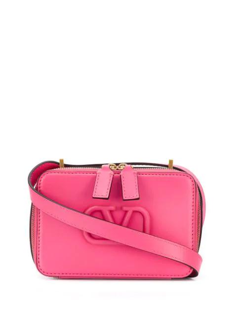 Valentino Garavani Vsling Camera Bag In Pink