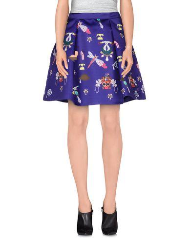 Mary Katrantzou Knee Length Skirt In Purple