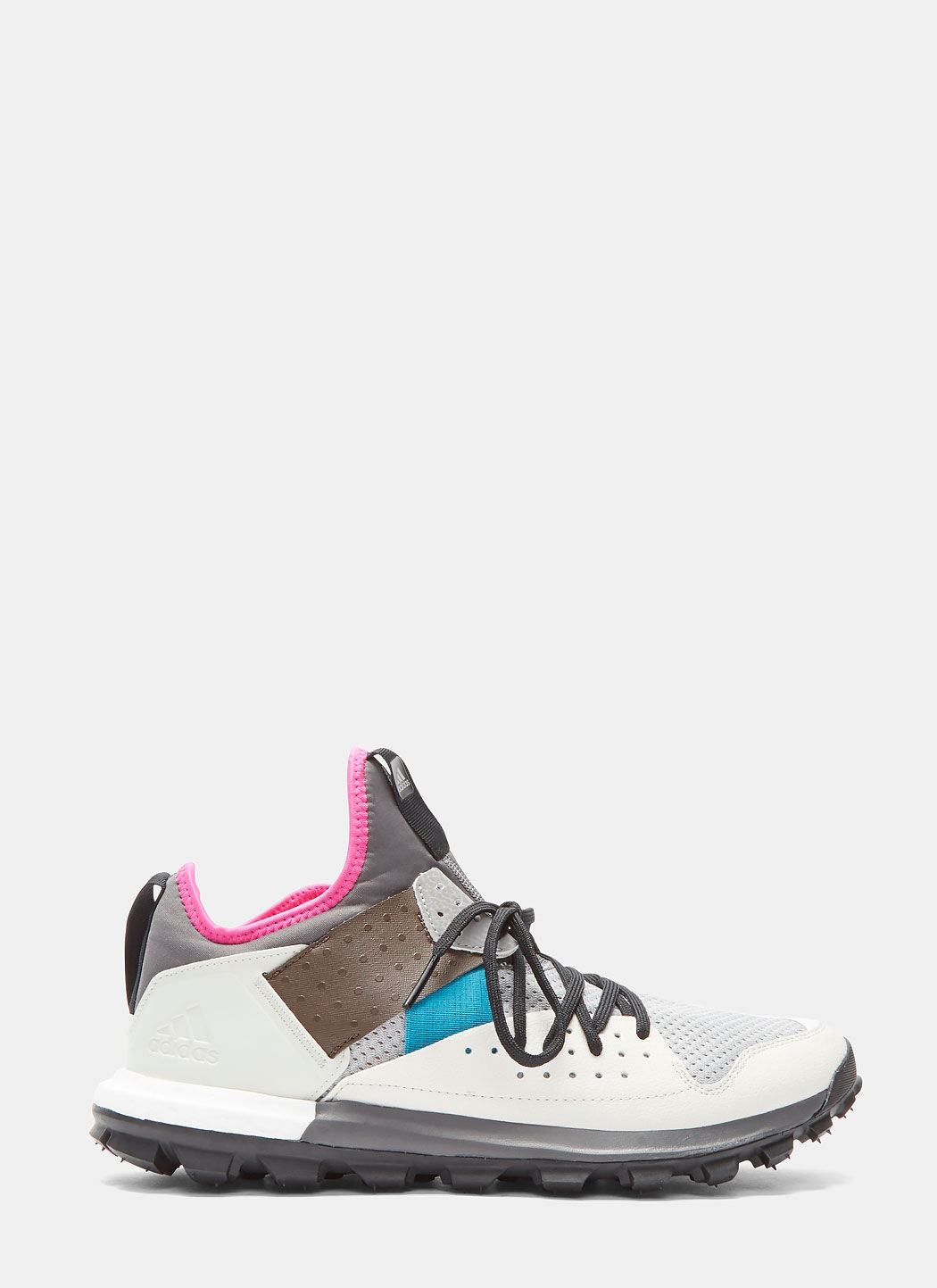 0188a191a Adidas By Kolor White Multi Response Trail Boost Trainers