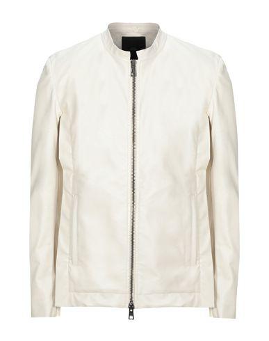 Tom Rebl Biker Jacket In White