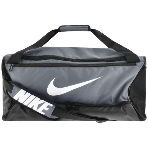 Nike Brasilia Duffle Bag Grey