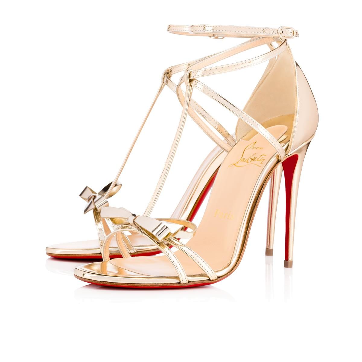 b16b887e831c Christian Louboutin Blakissima Patent 85 Poudre Patent Calfskin - Women  Shoes - In Platine